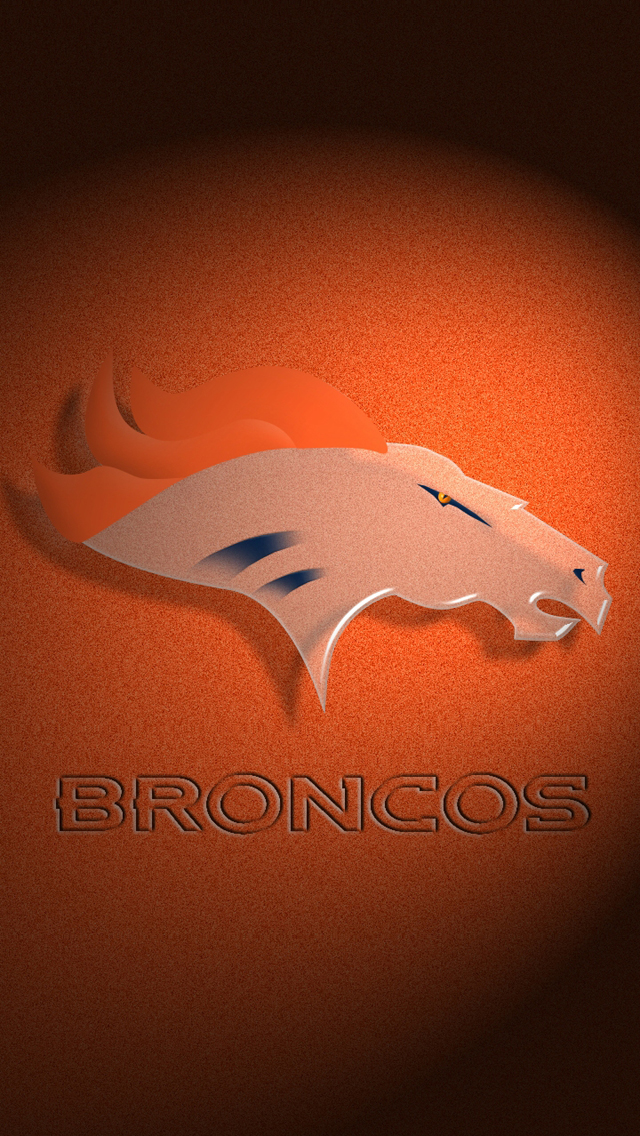 Denver Broncos Logo Wallpaper - WallpaperSafariDenver Broncos Iphone Wallpaper