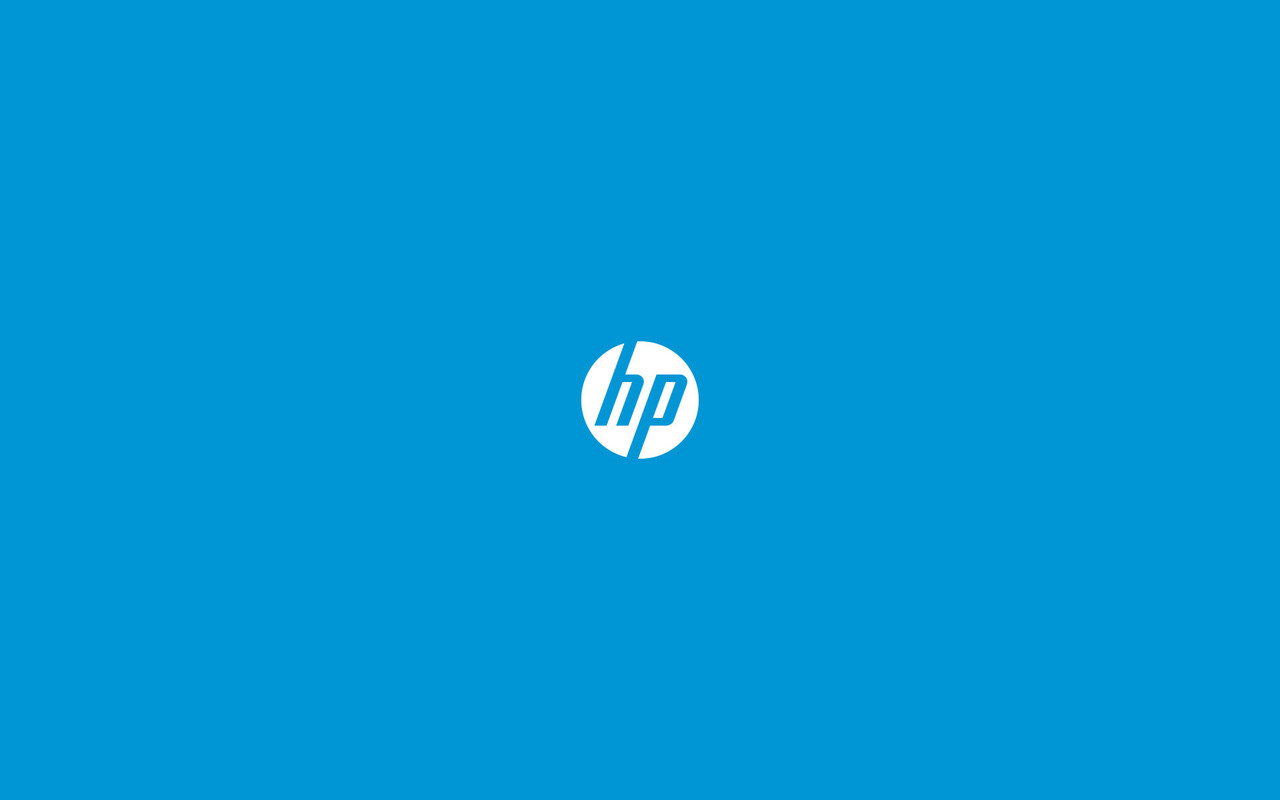 Hp logo Widescreen Wallpaper   5321 1280x800