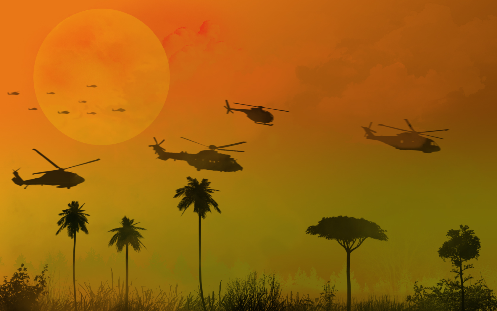 Apocalypse Now Wallpaper 1680x1050