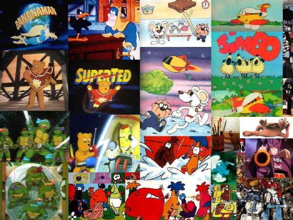 80s Cartoon collage 600x450
