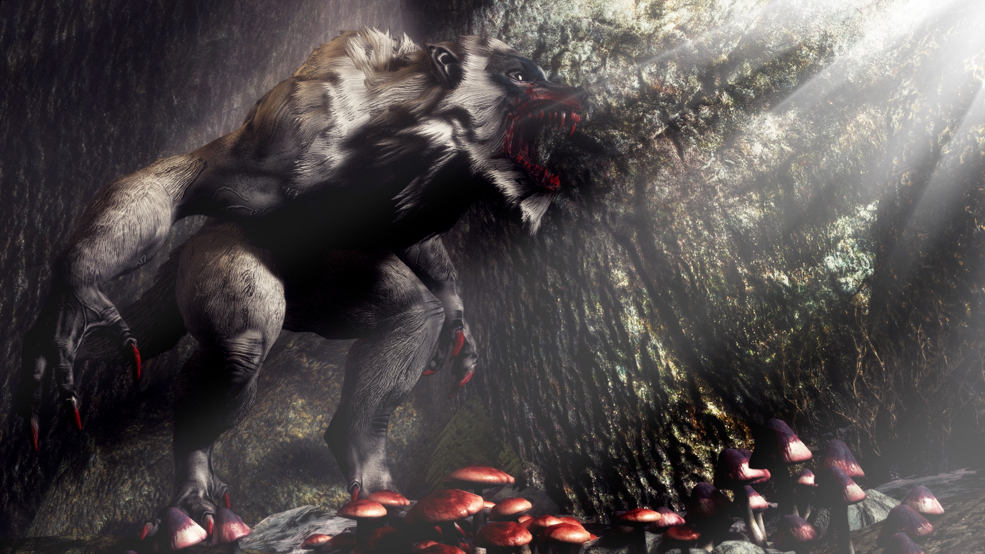 ancient werewolf wallpaper-#5