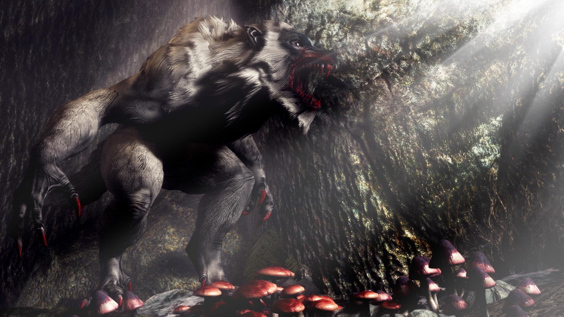 ancient werewolf wallpaper wallpapersafari