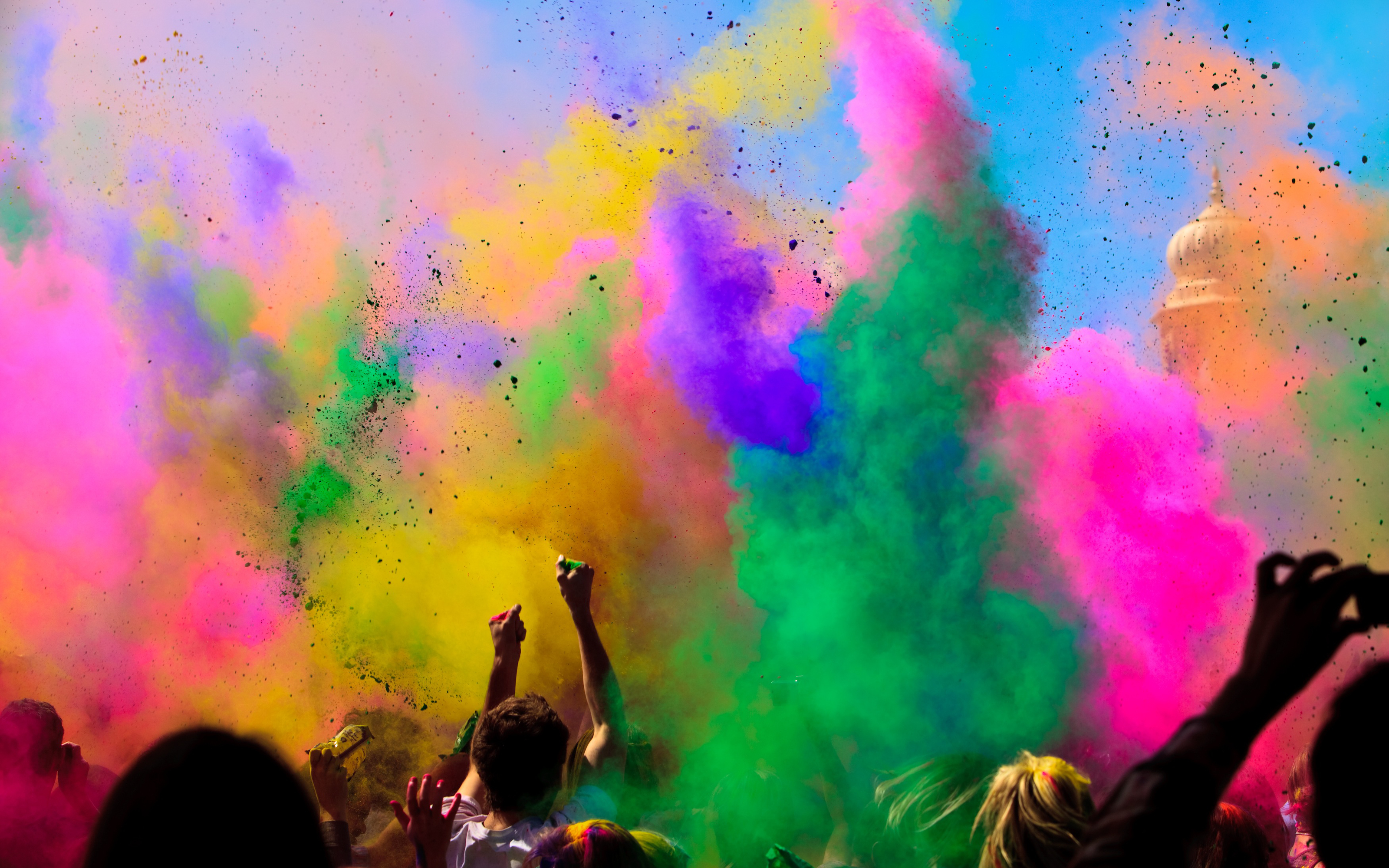 68 Holi HD Wallpapers Background Images 3200x2000
