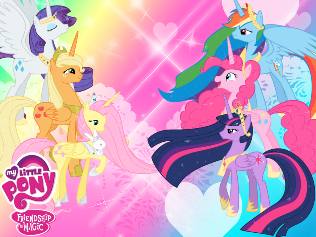 Free Download My Little Pony Princess Wallpaper By Invader Zil