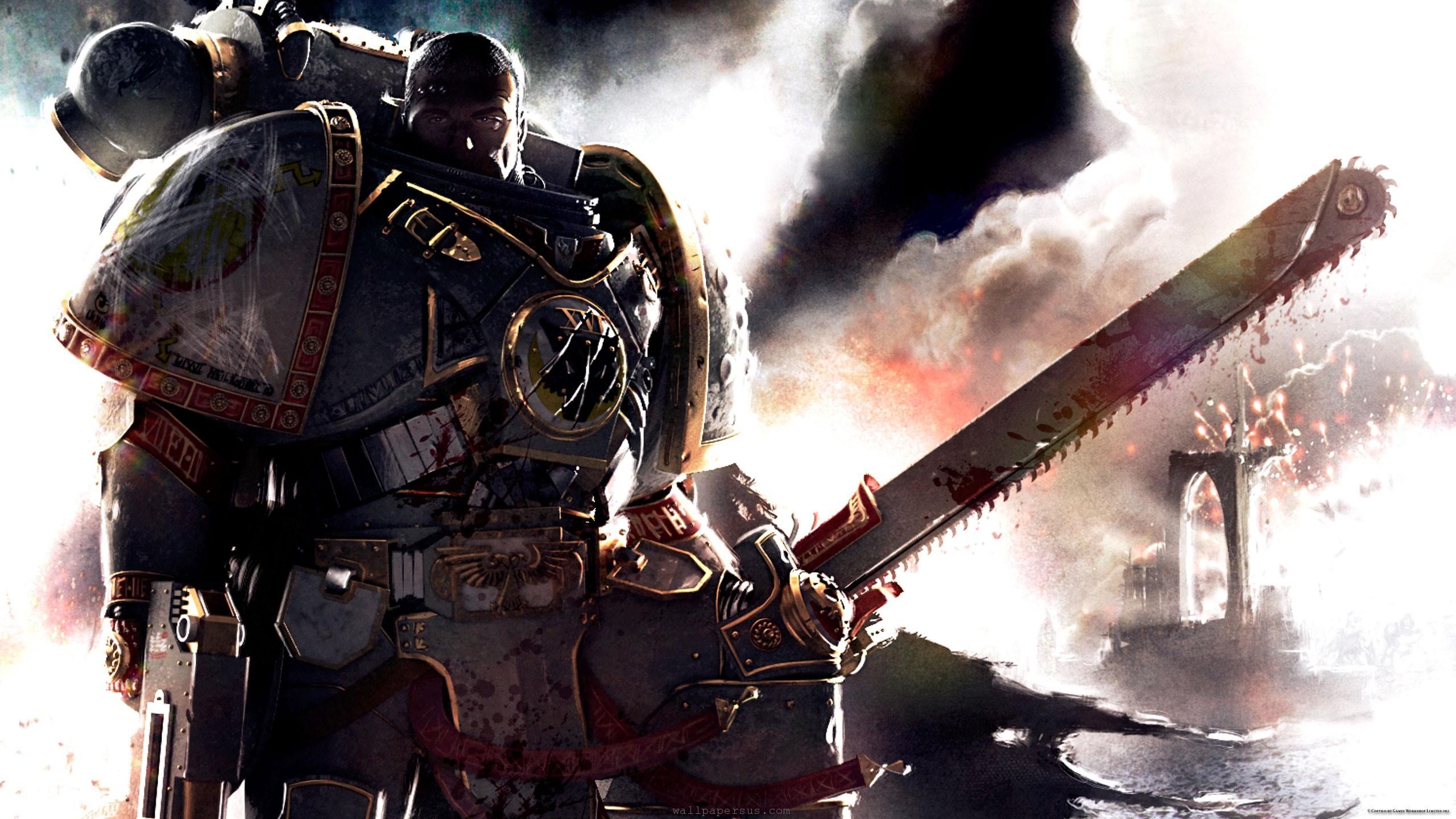 space marines fiction science warhammer legion wallpaper 2560x1440
