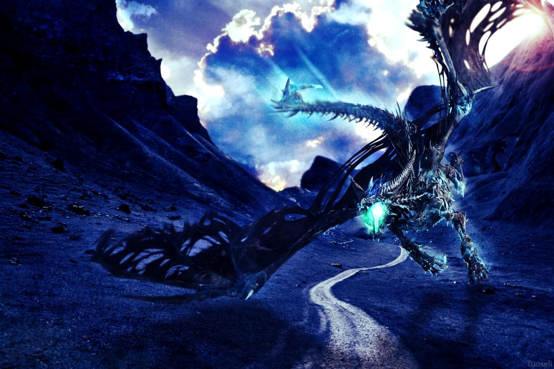 Blue Dragon 18 Cool Hd Wallpaper 1095x730
