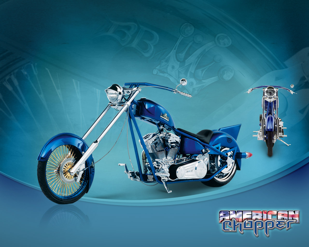 American chopper Orange County Choppers Wallpaper 124431 1280x1024