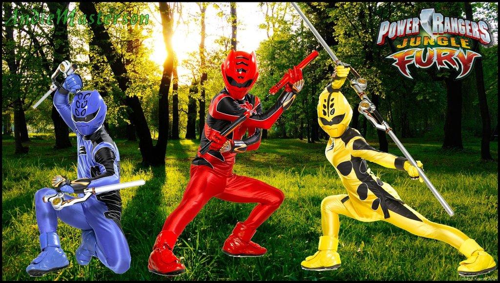 Power Rangers Jungle Fury Wallpaper 1024x580