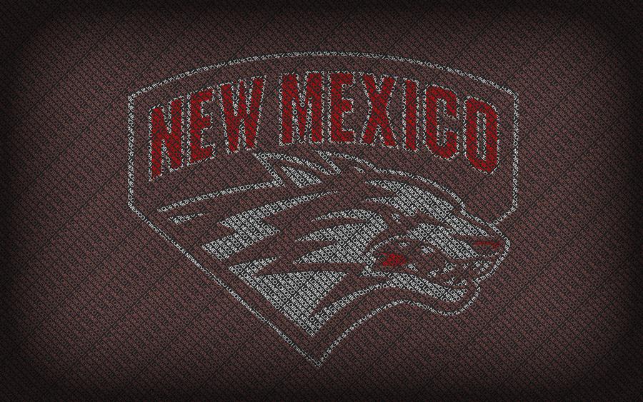new mexico lobos typography by blazingfx 900x563