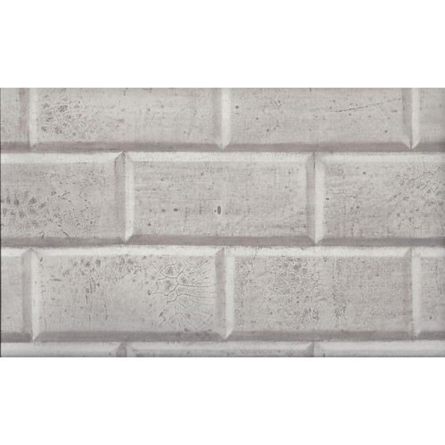 Silver with a Sheen Faux Subway Tile Wallpaper   All 4 Walls Wallpaper 650x650