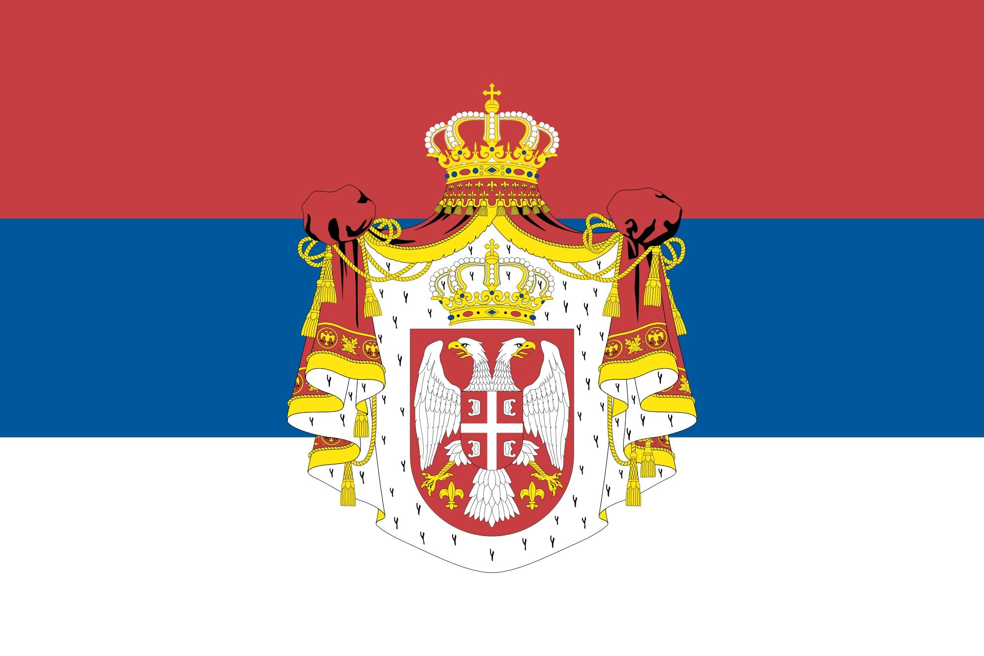 6 HD Serbia Flag Wallpapers 2000x1333