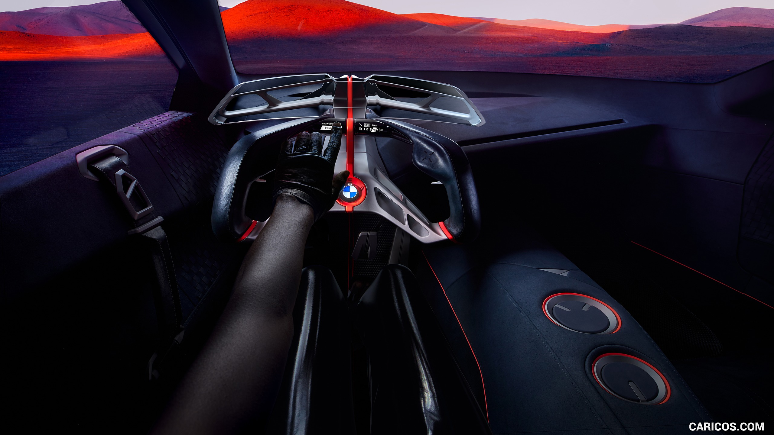2019 BMW Vision M Next   Interior Cockpit HD Wallpaper 31 2560x1440