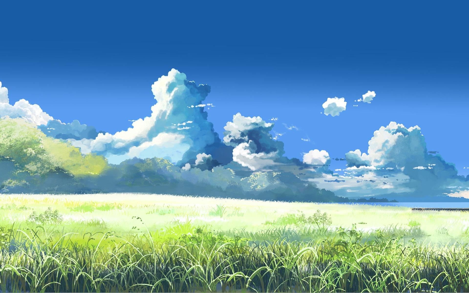 Anime Landscape Wallpaper 1920x1200 ID36447   WallpaperVortexcom 1920x1200