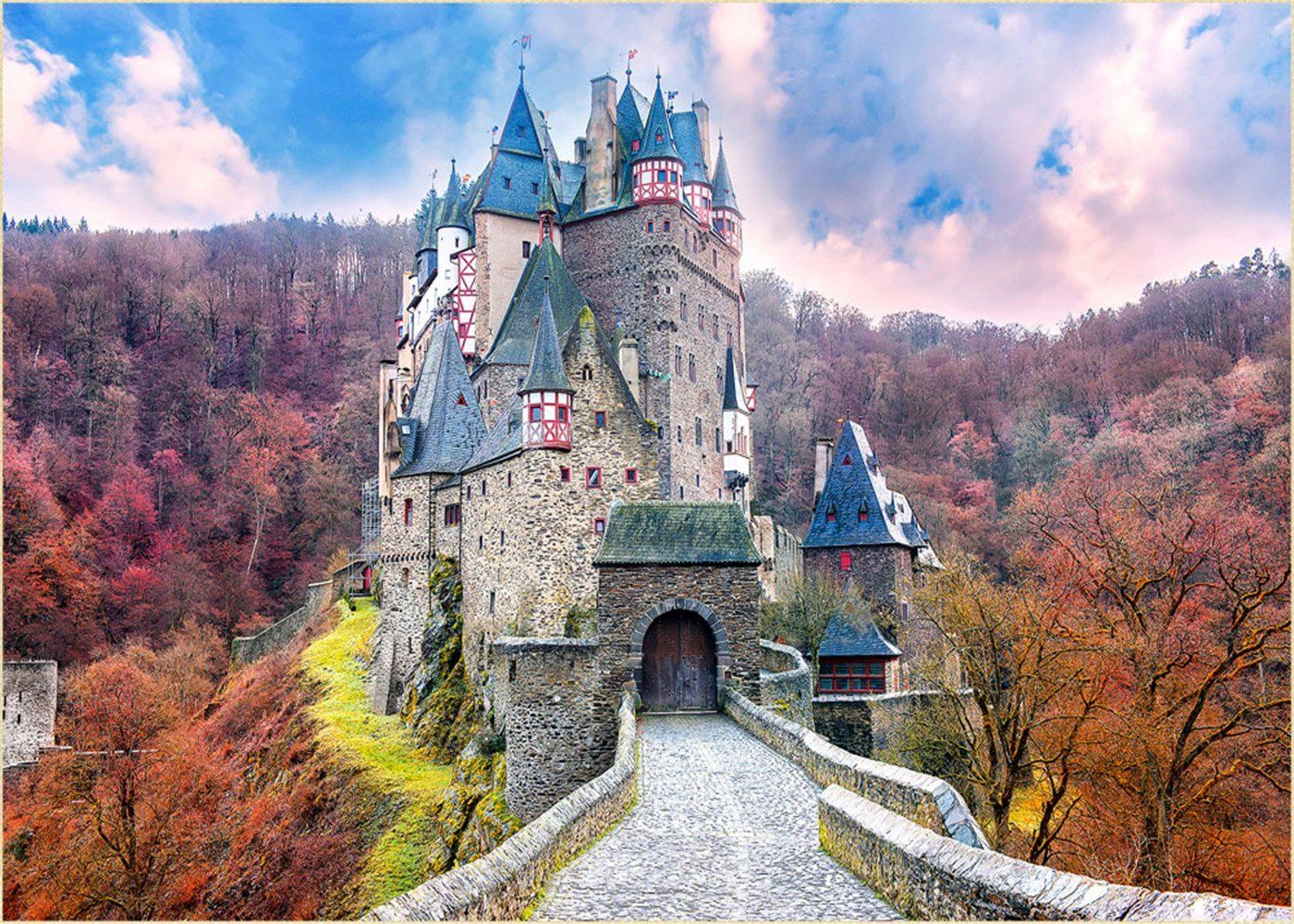 Amazoncom Fairy Tale Background for Photography Vintage Castle 1400x1000