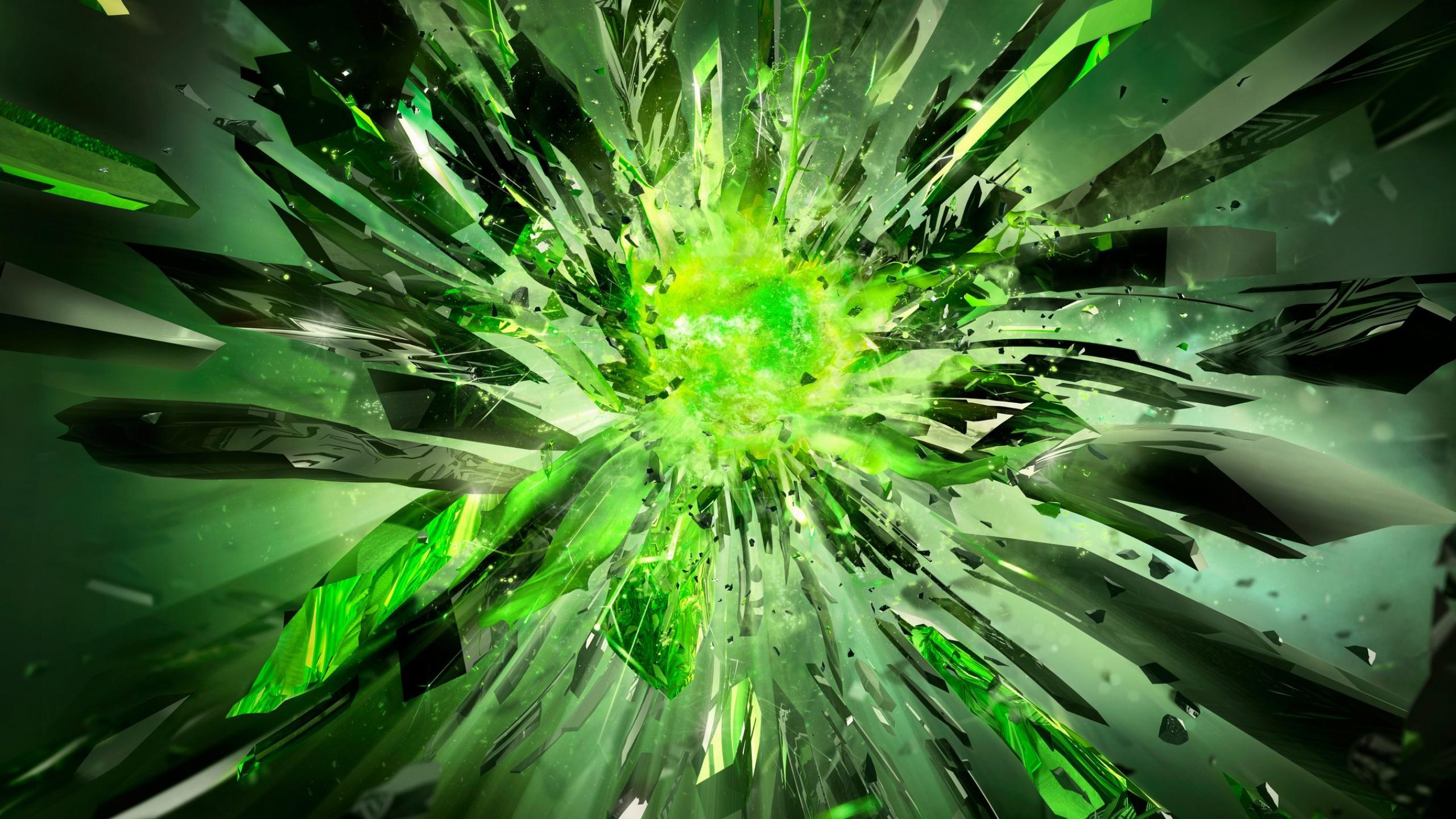 Crystals broken power green nvidia 1440x2560jpg 2560x1440