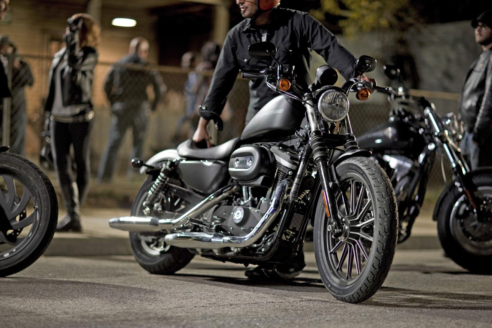 2009 Harley Davidson Sportster 883 Iron XL883N f wallpaper 1680x1120 1680x1120