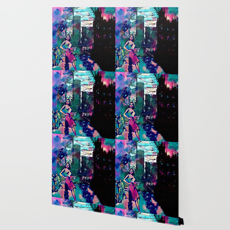 Dame From Buxom Street Wallpaper by jeffreyjirwin Society6 1500x1500