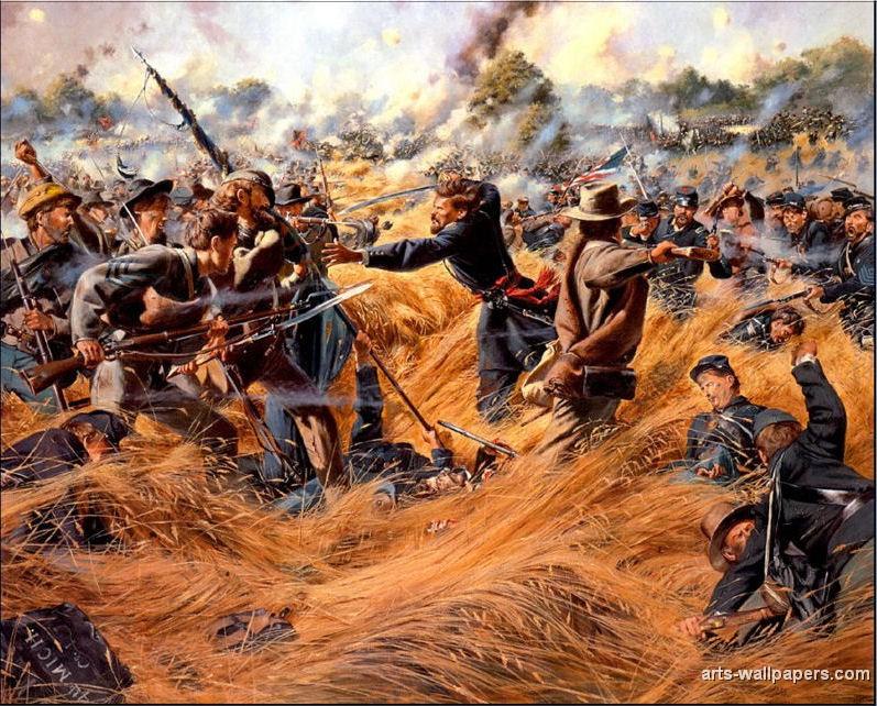 american civil war paintings art prints gallery pictures artworks 797x642
