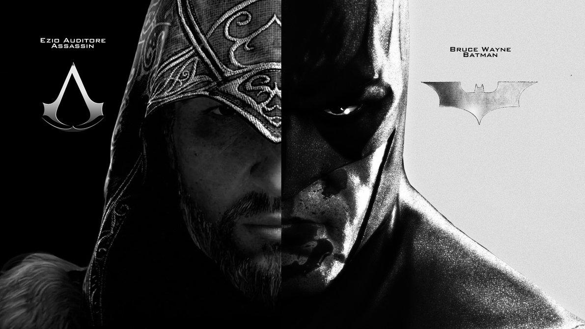 Ezio Batman Wallpaper by Cocomonkey18 1191x670