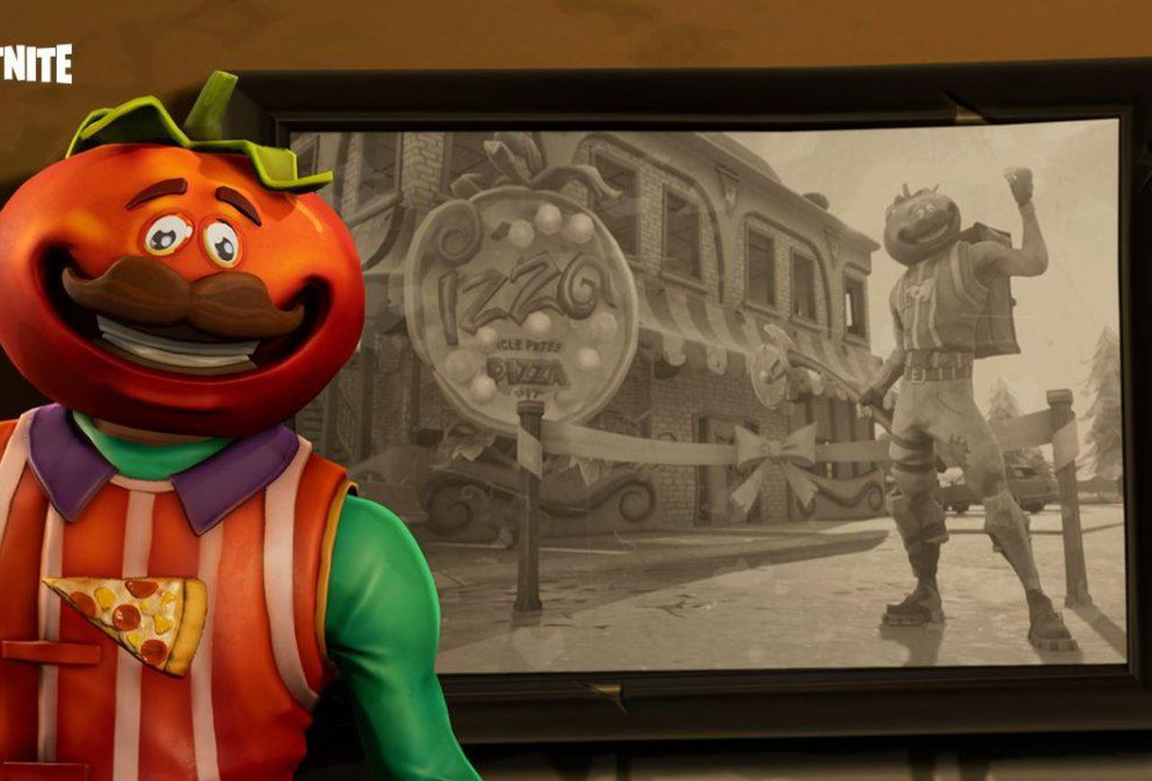 Fortnite Battle Royales Tomato Town Treasure Map Where To Find 1280x868
