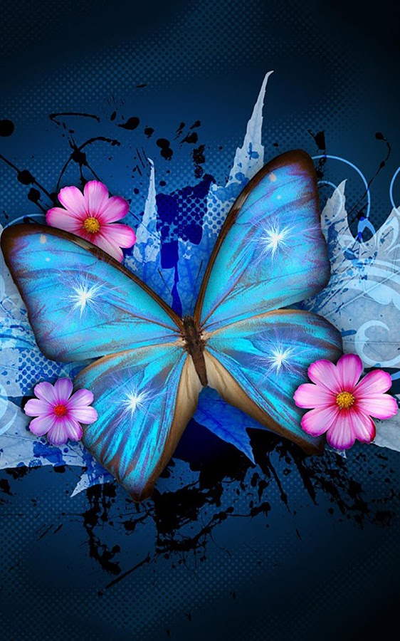 Shiny Butterfly Live Wallpaper Screenshots 562x900