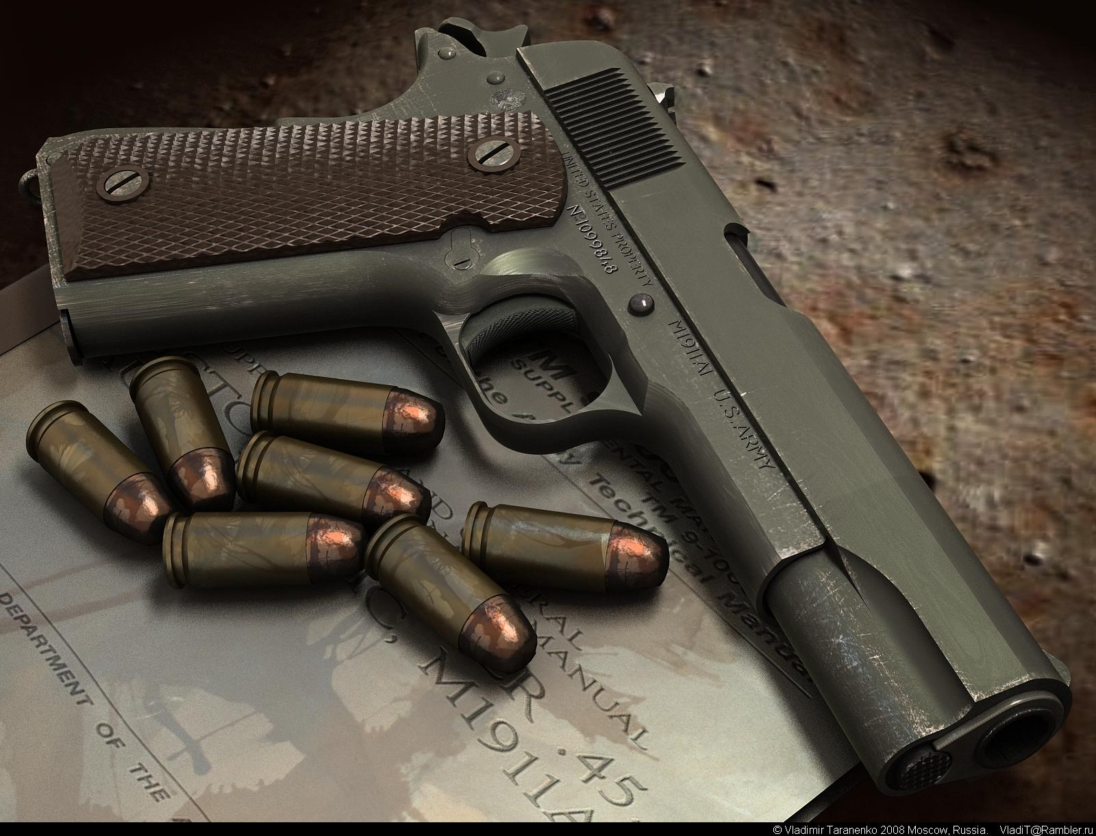 Colt 1911 Wallpaper Related Keywords Suggestions   Colt 1911 1600x1220