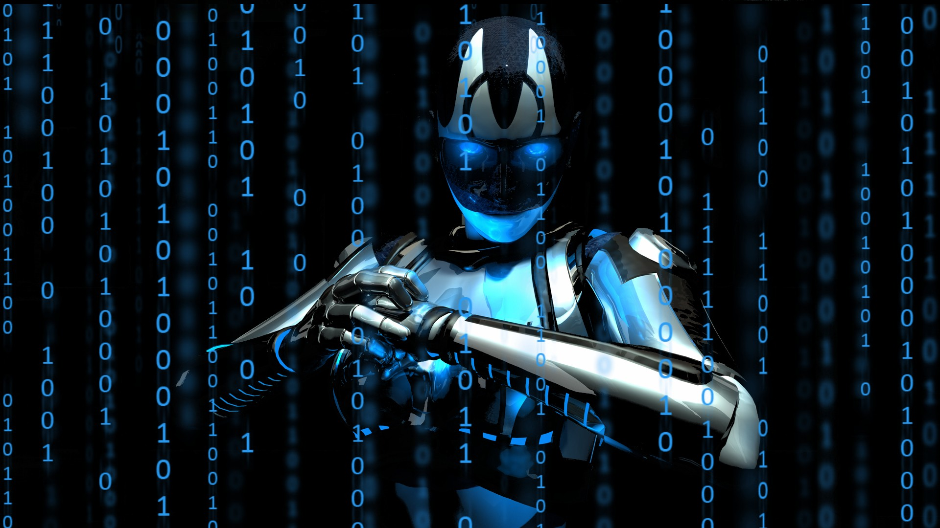 Robots Cyborgs Wallpaper 1920x1080 Robots Cyborgs Binary Machines 1920x1080