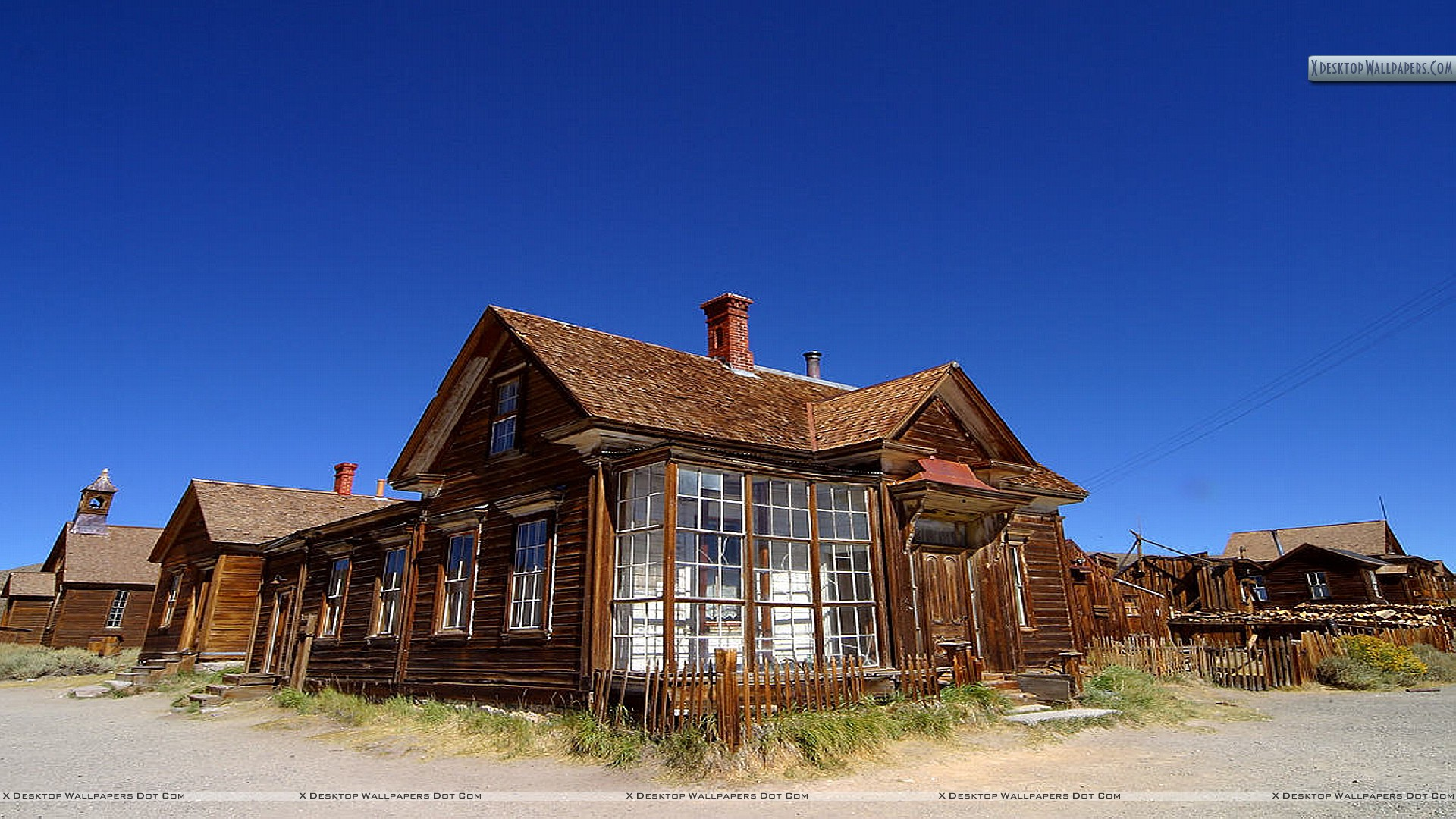 Bodie Ghost Town Wallpaper 1920x1080