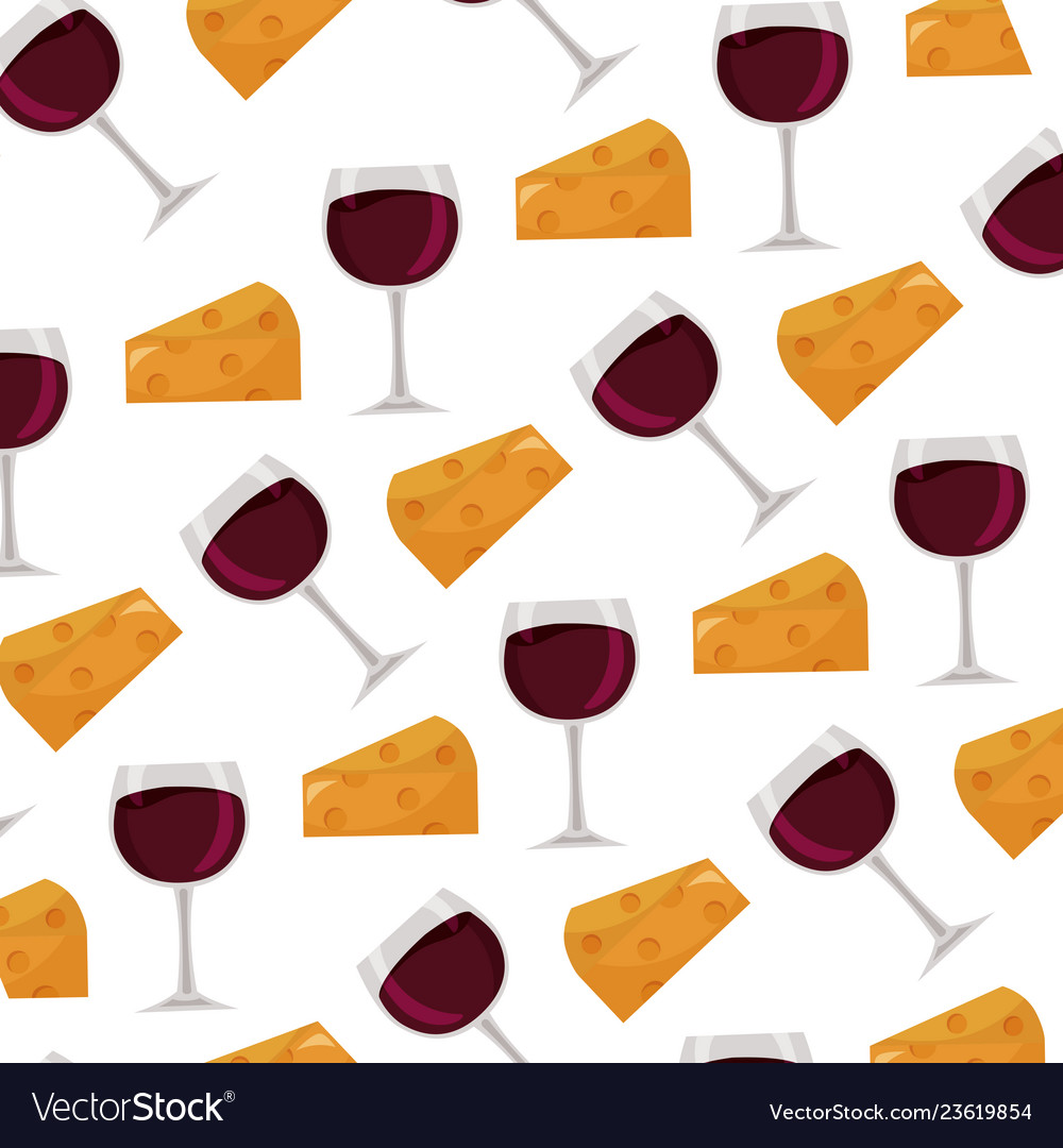 Background wine cup and cheese Royalty Vector Image 1000x1080