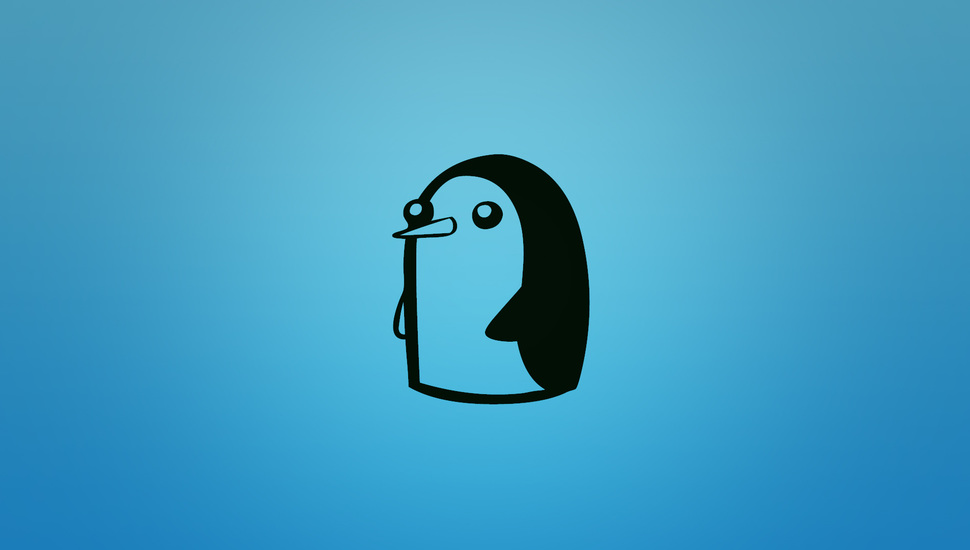 adventure time adventure time gunter at penguin wallpaper and 970x550