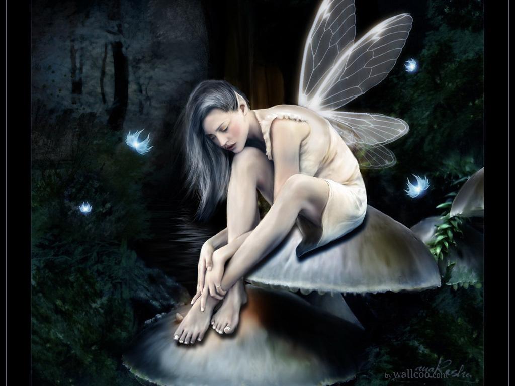 Beautiful Fairies Wallpapers Dark Fairy Myspace