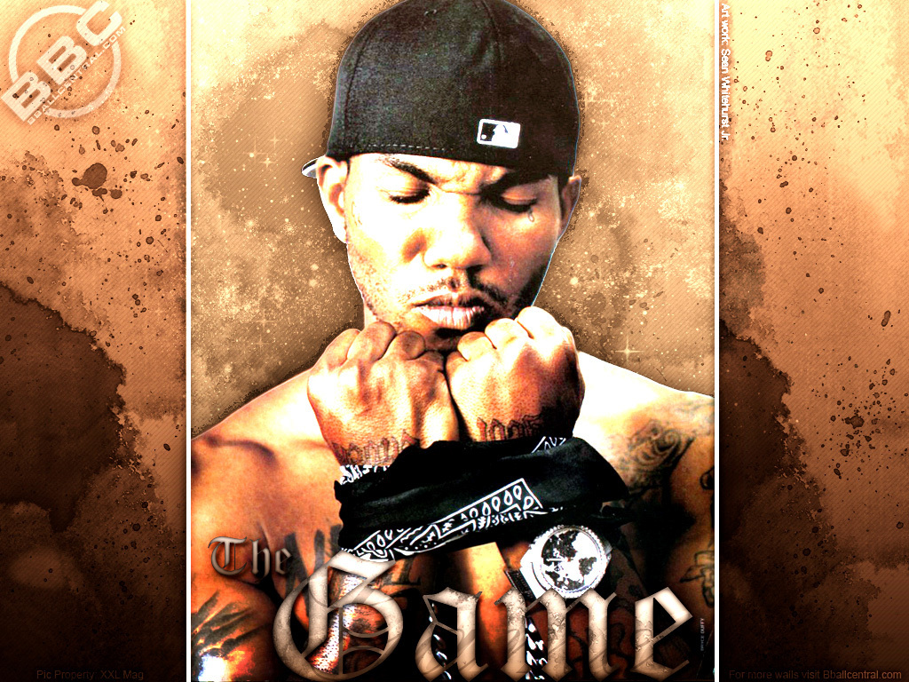 The Game   The Game Rapper Wallpaper 3607632 1024x768