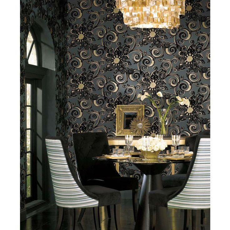 GARCIA Crown Wallpaper Fabrics Toronto Vancouver Montreal 736x736