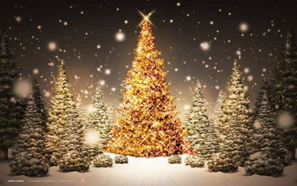 50 Beautiful Christmas Desktop Wallpapers Ginva 601x376