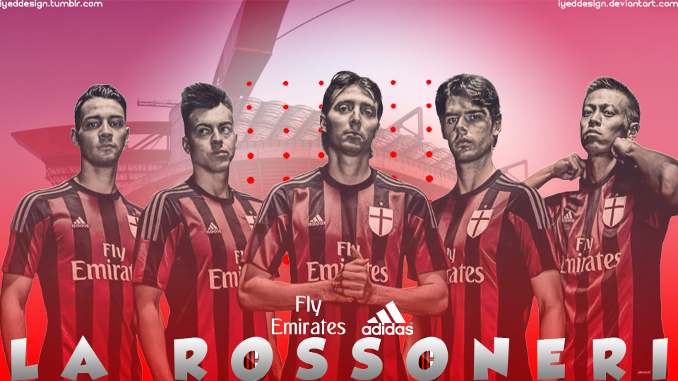 AC Milan Wallpaper 20152016 by IyedDesign 960x540