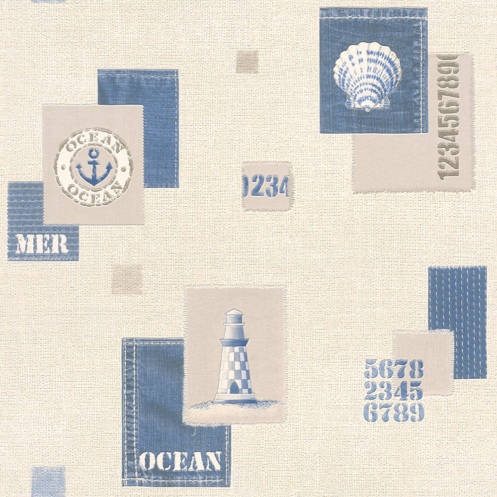 Wallpaper 853209 Blue Cut