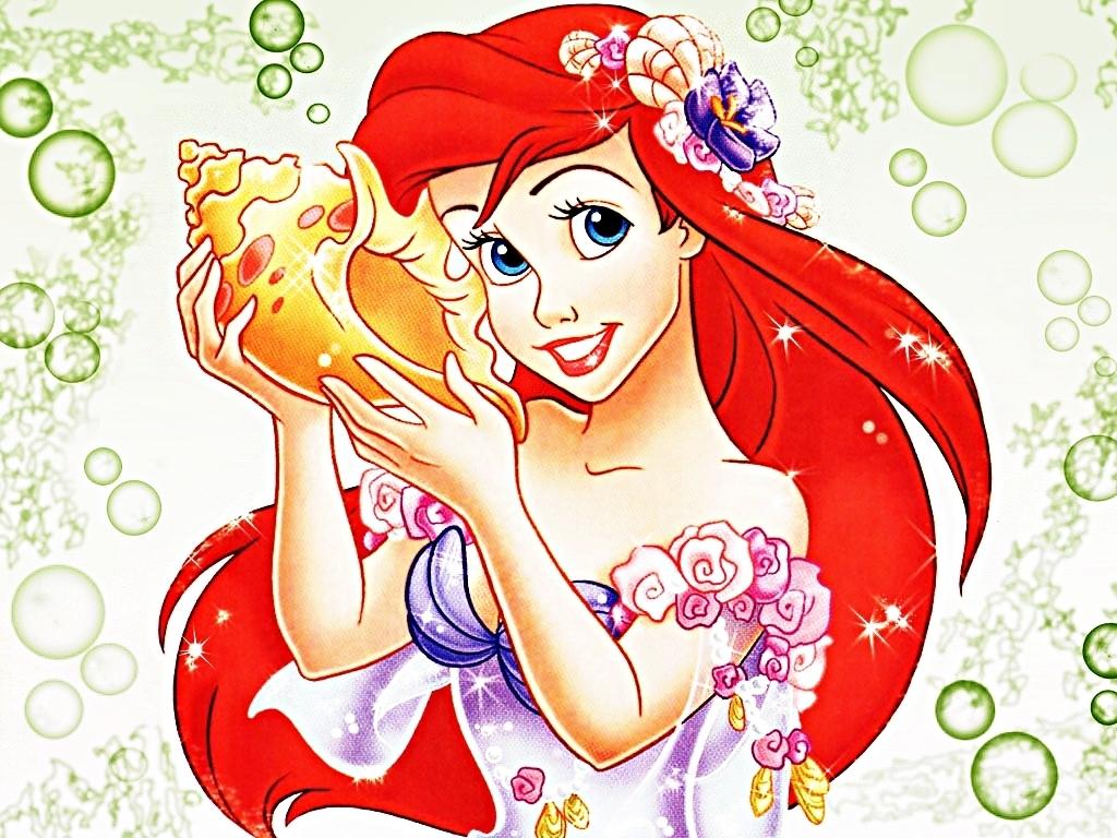 Walt Disney Characters images Walt Disney Wallpapers   Princess Ariel 1024x768