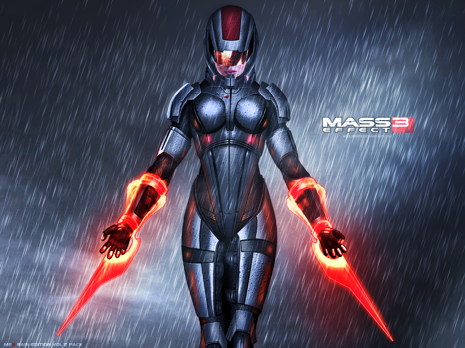 Free Download Mass Effect 3 Femshep Rain Edition Vol 2 By