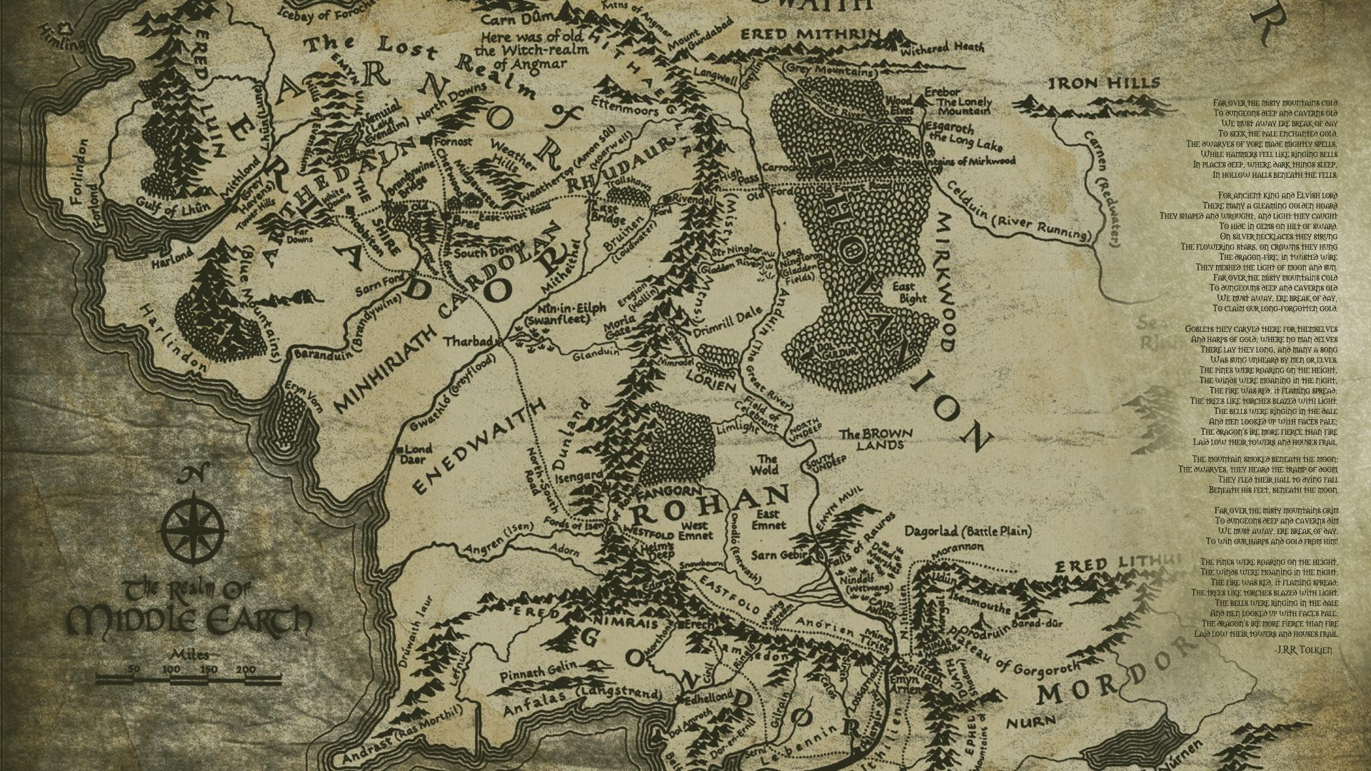 middle earth maps pinterest 1920x1080