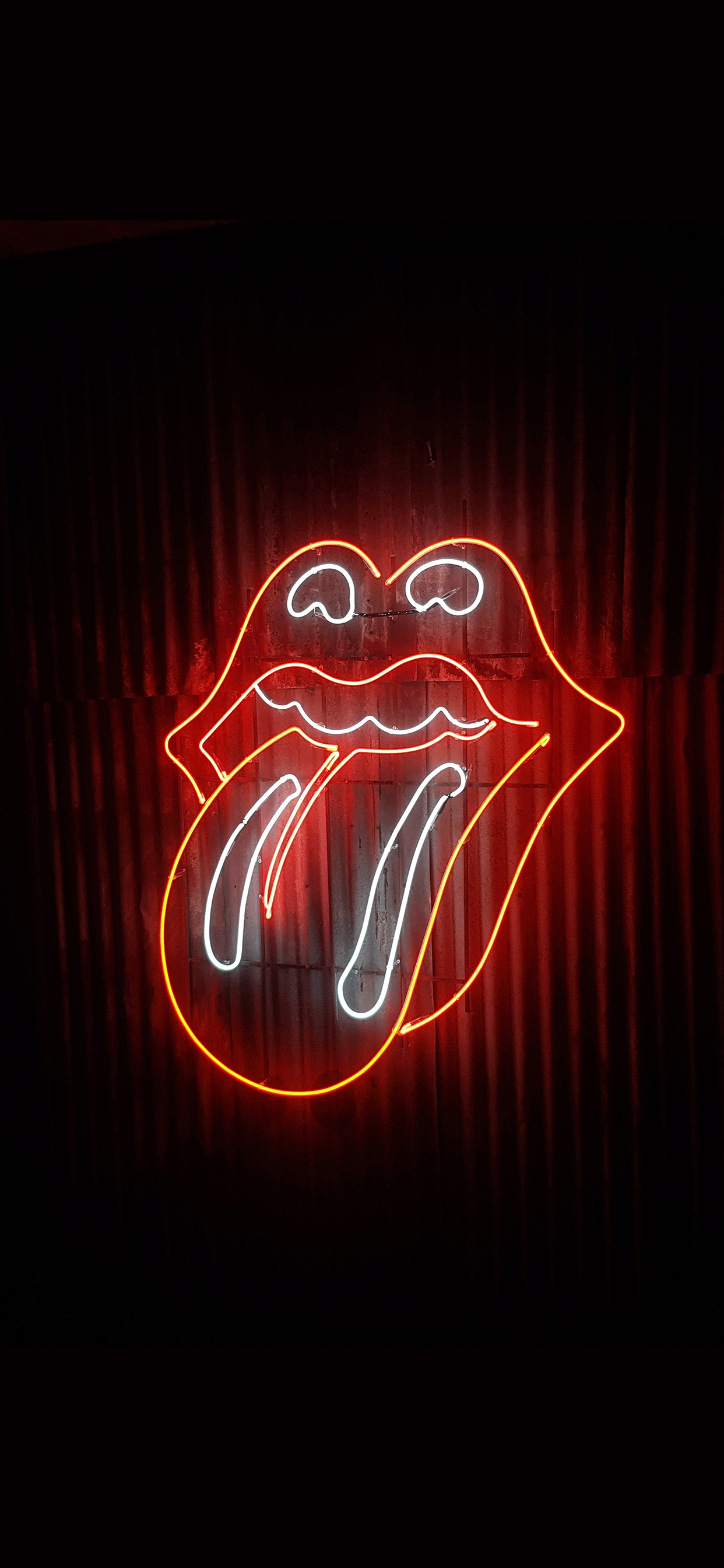 Iphone Wallpapers Neon Mouth Neon Sign   Neon Sign Wallpaper 1242x2688