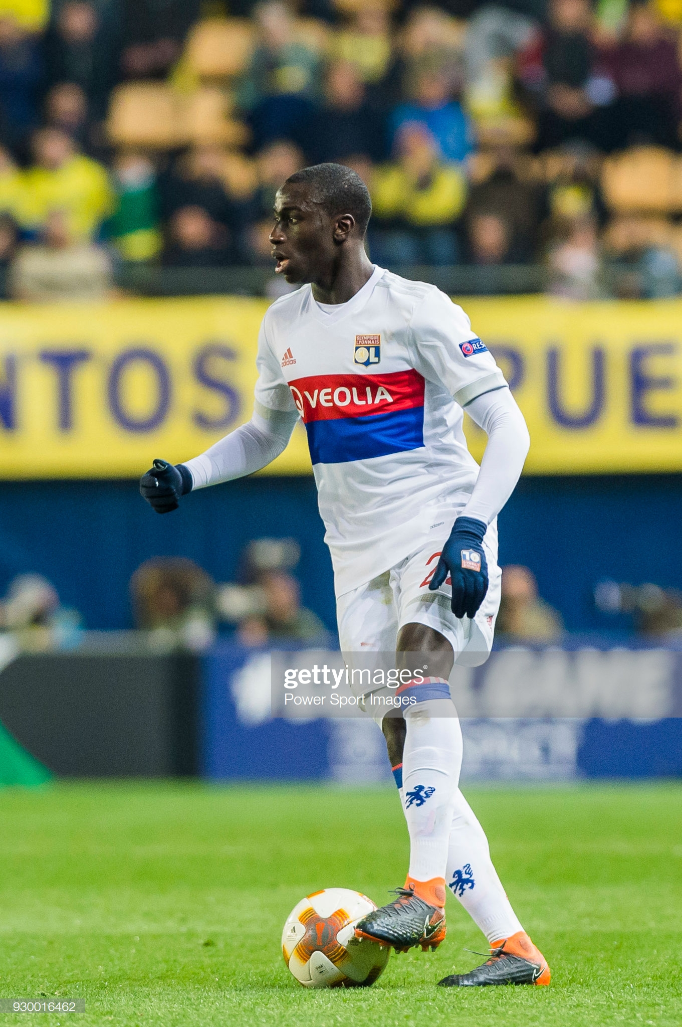 Ferland Mendy of Olympique Lyon in action during the UEFA Europa 1361x2048