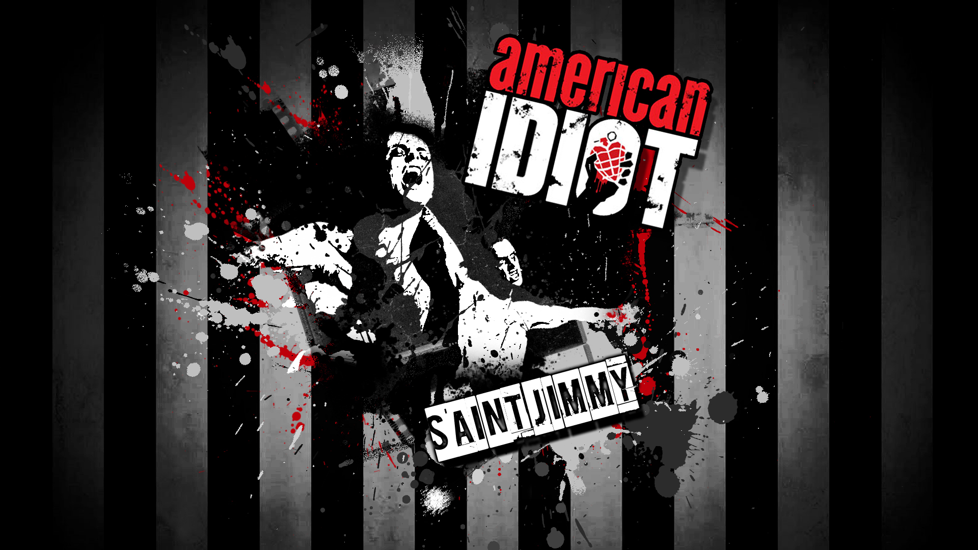 Green Day St  Jimmy American Idiot music punk rock alternative 1920x1080