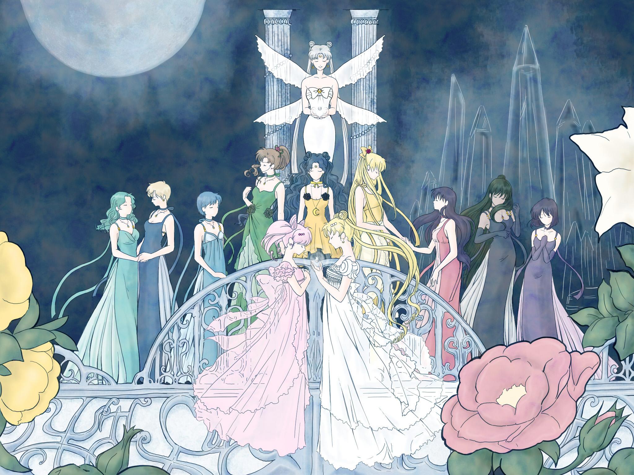 47 Anime Sailor Moon Crystal Wallpaper On Wallpapersafari