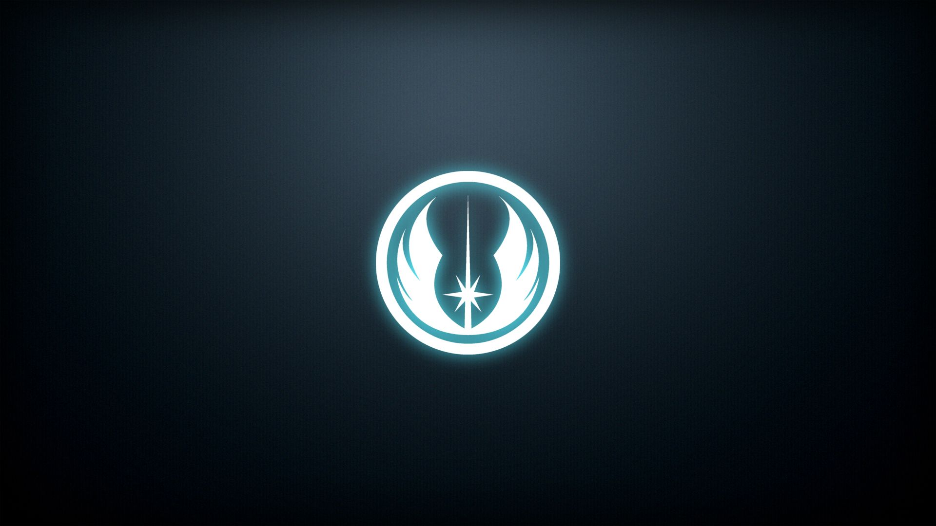 Jedi Order emblem that I made [1920x1080] Wallpaper Wallpapers 1920x1080