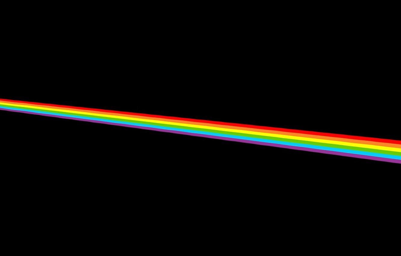 Wallpaper color music the moon rainbow Pink Dark Moon Side 1332x850