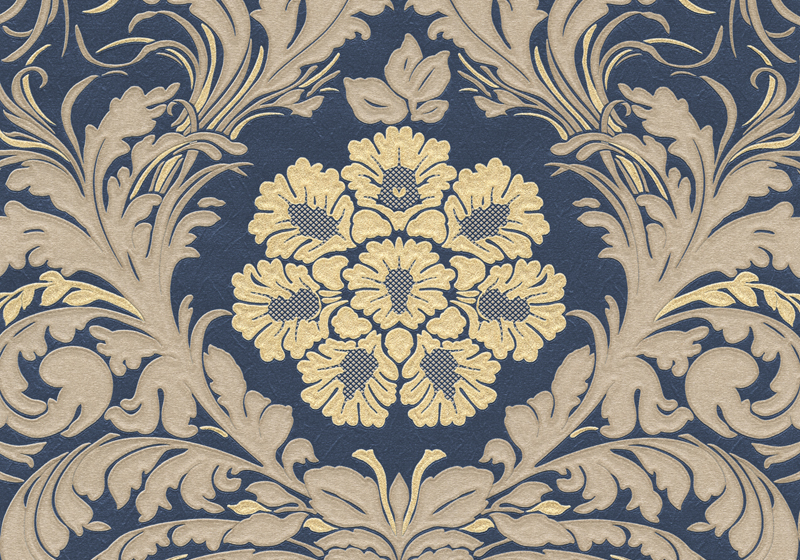 Navy and white geometric wallpaper wallpapersafari - Navy gold wallpaper ...