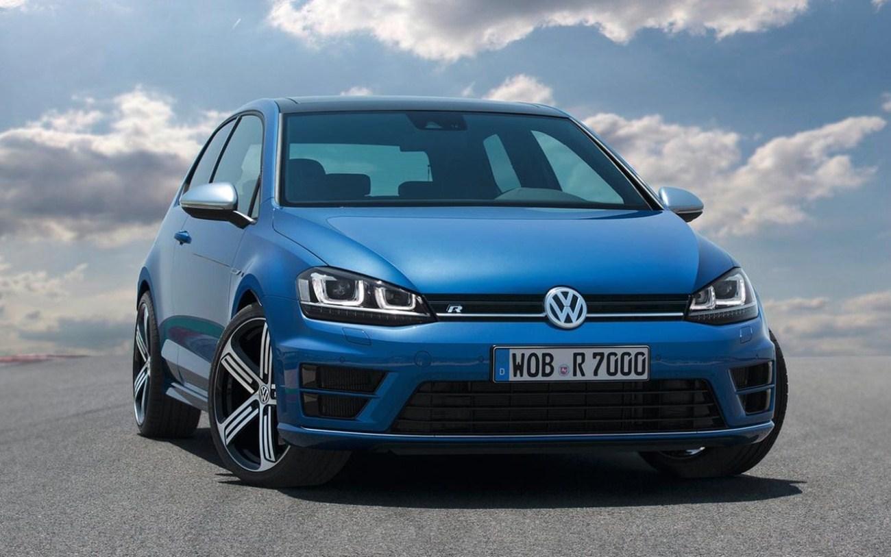 Blue 2015 Volkswagen Golf R Wallpaper photos of 2015 VW Golf GTI 7th 1300x813