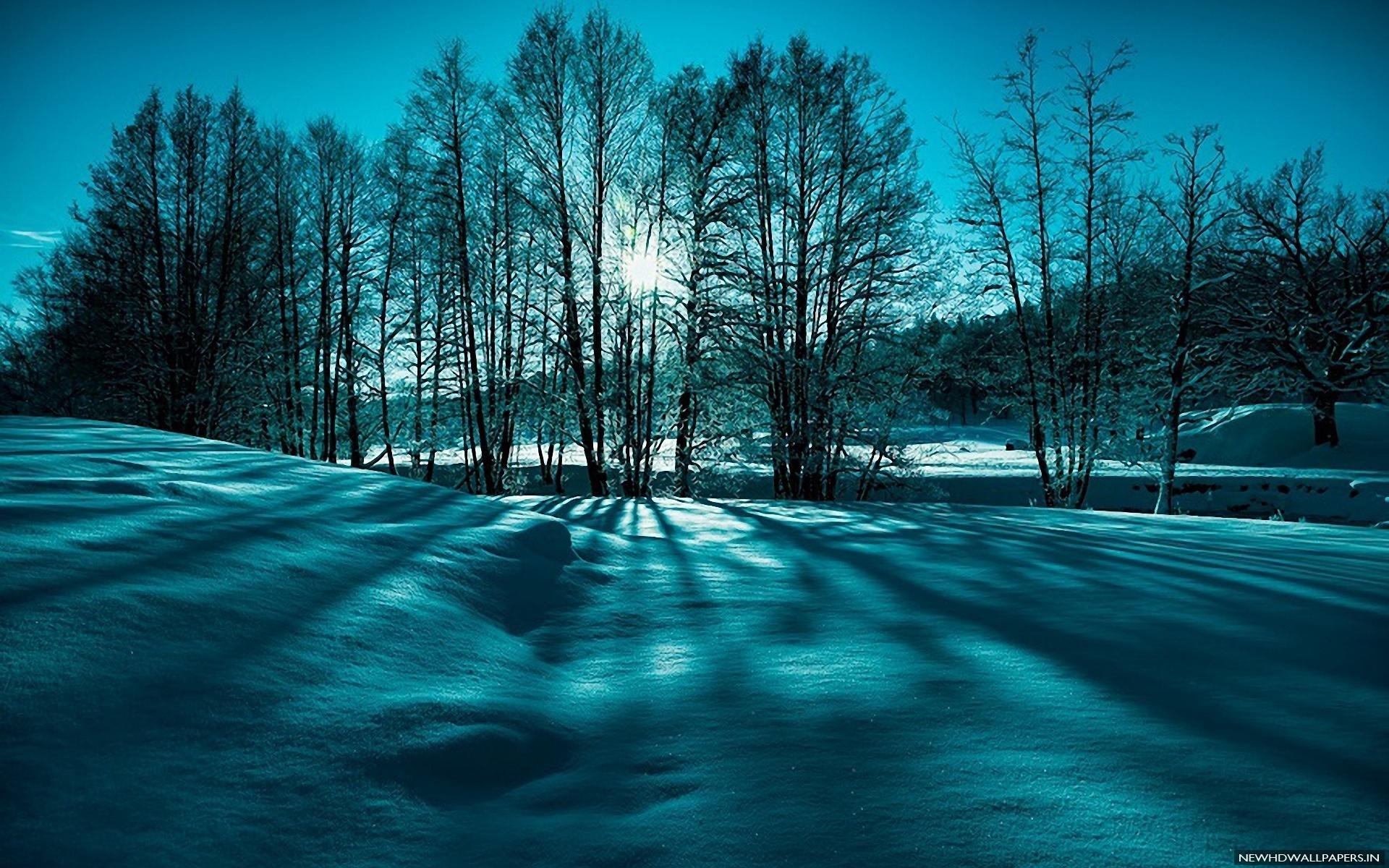 Hd winter landscape wallpapers wallpapersafari - Wallpaper hd nature winter ...