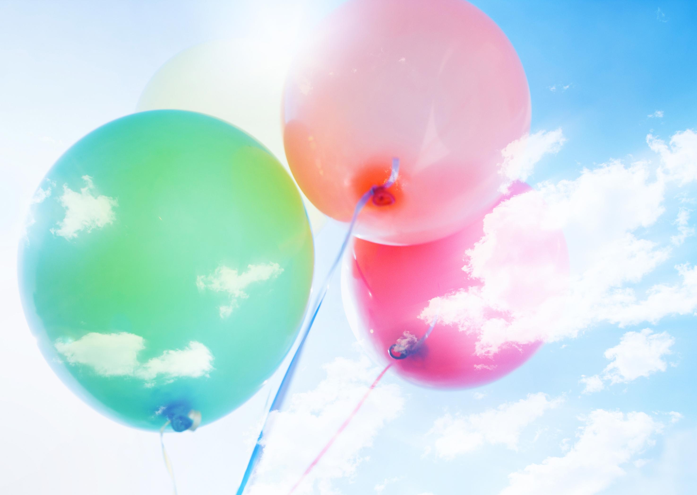 Balloons Desktop Wallpaper wallpapers55com   Best Wallpapers for 2950x2094