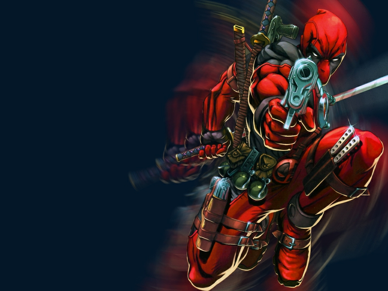 cool Cable and Deadpool Entertainment Other HD Desktop Wallpaper 800x600